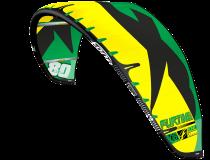 Aile de kitesurf F-One Furtive 2017 nue.