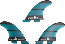 Aileron FCS II Performer Neo Glass Medium Tri Rear Retail