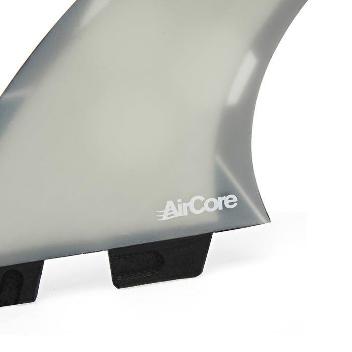 Ailerons de surf FCS 2 AM PC AIRCORE Medium Grey Tri Retail Fins