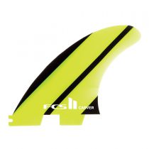 Ailerons de surf FCS 2 Carver Neo Glass Medium Acid Gradient tri fins