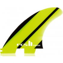 Ailerons de surf FCS 2 carver neoglass medium tri retail fins