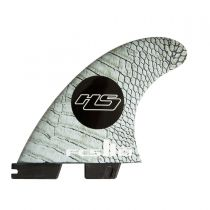 Ailerons de surf FCS 2 HS PC Carbon Medium  Tri Retail Fins