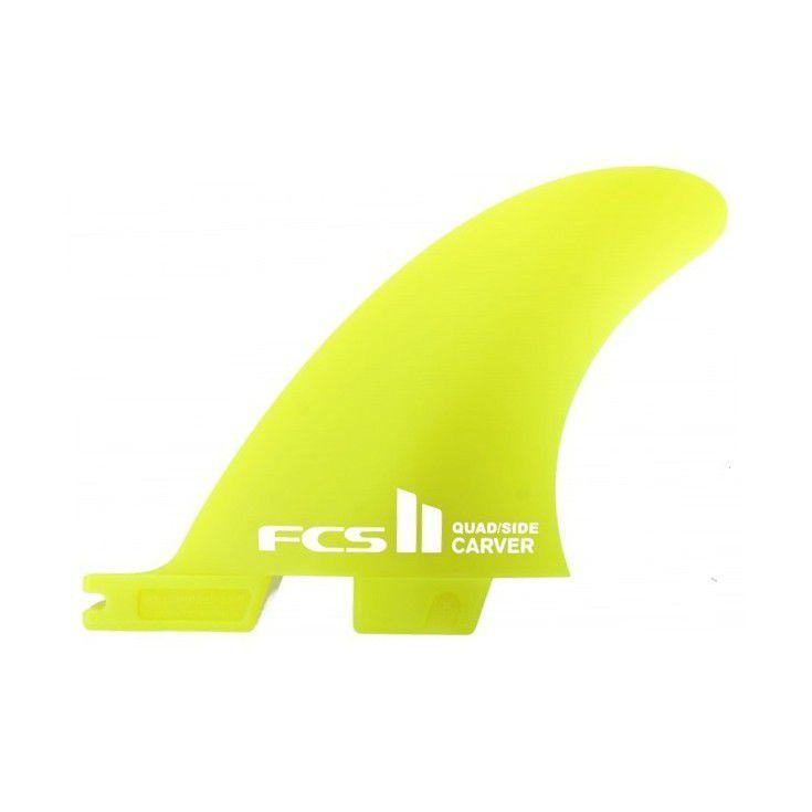 Ailerons de surf FCS II Essentiel Series CARVER Quad Rear Small