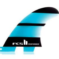 Ailerons de surf FCS II Essentiel Series Performer QUAD  médium
