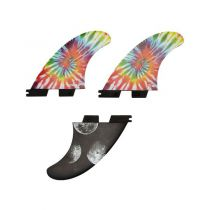 Ailerons de surf Gorilla Moon beams médium tri fin set