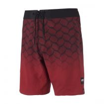 BOARD SHORT MYSTIC SUPREME DARK RED S19