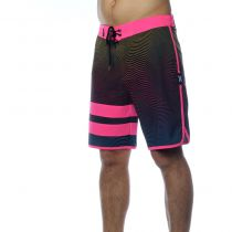 Boardshort Hurley Phantom Static Block Party Pink Blast
