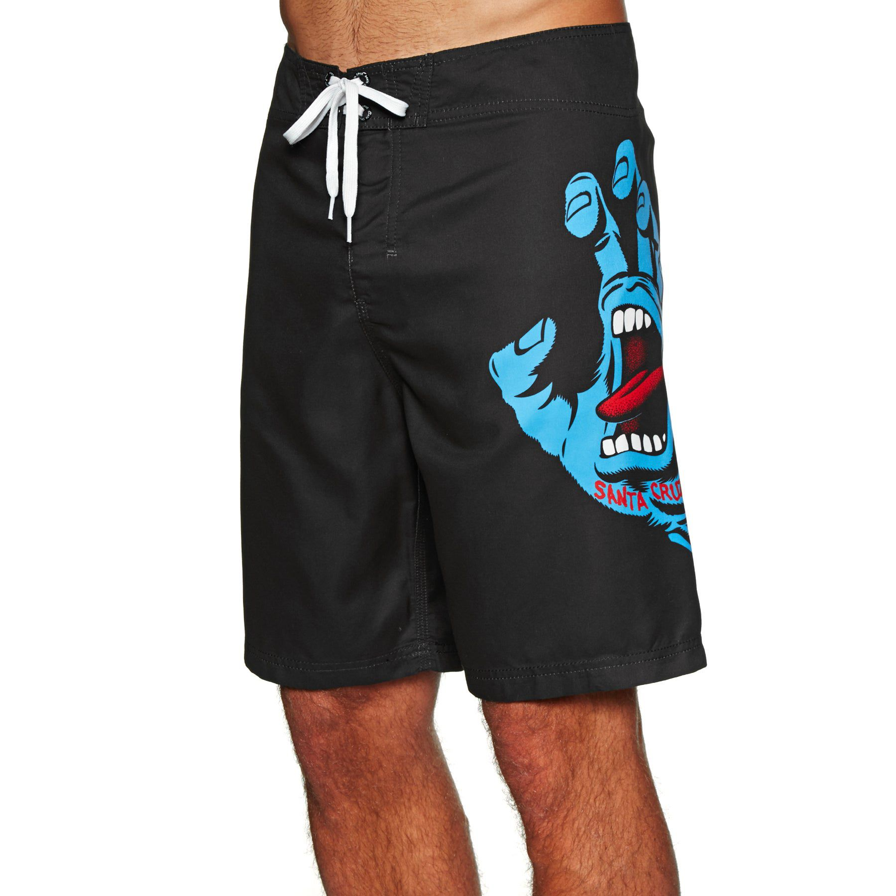 Boardshort Santa Cruz Screaming Hand Black