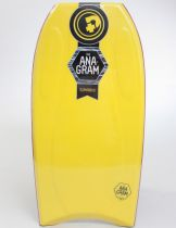 Bodyboard PRIDE The Anagram EPS HD S18 Yellow