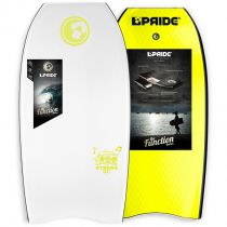 Bodyboard PRIDE The Stereo PE HD S18 White