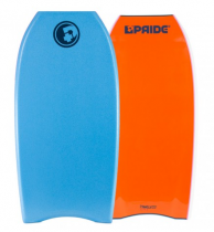 Bodyboard PRIDE The Timeless NRG+ HD Aqua Blue/Orange