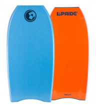 Bodyboard PRIDE The Timeless PP HD Aqua Blue / Orange