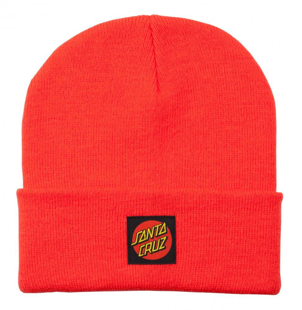 Bonnet Santa Cruz Label Dot Hot Coral