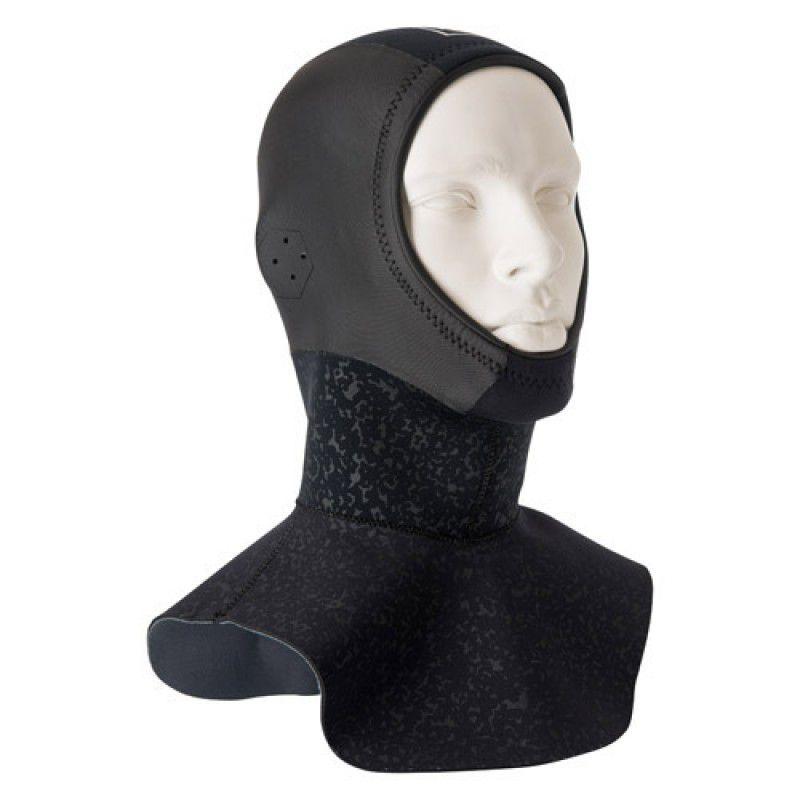 Cagoule néoprène Mystic MSTC Cold Hood Long 3mm black