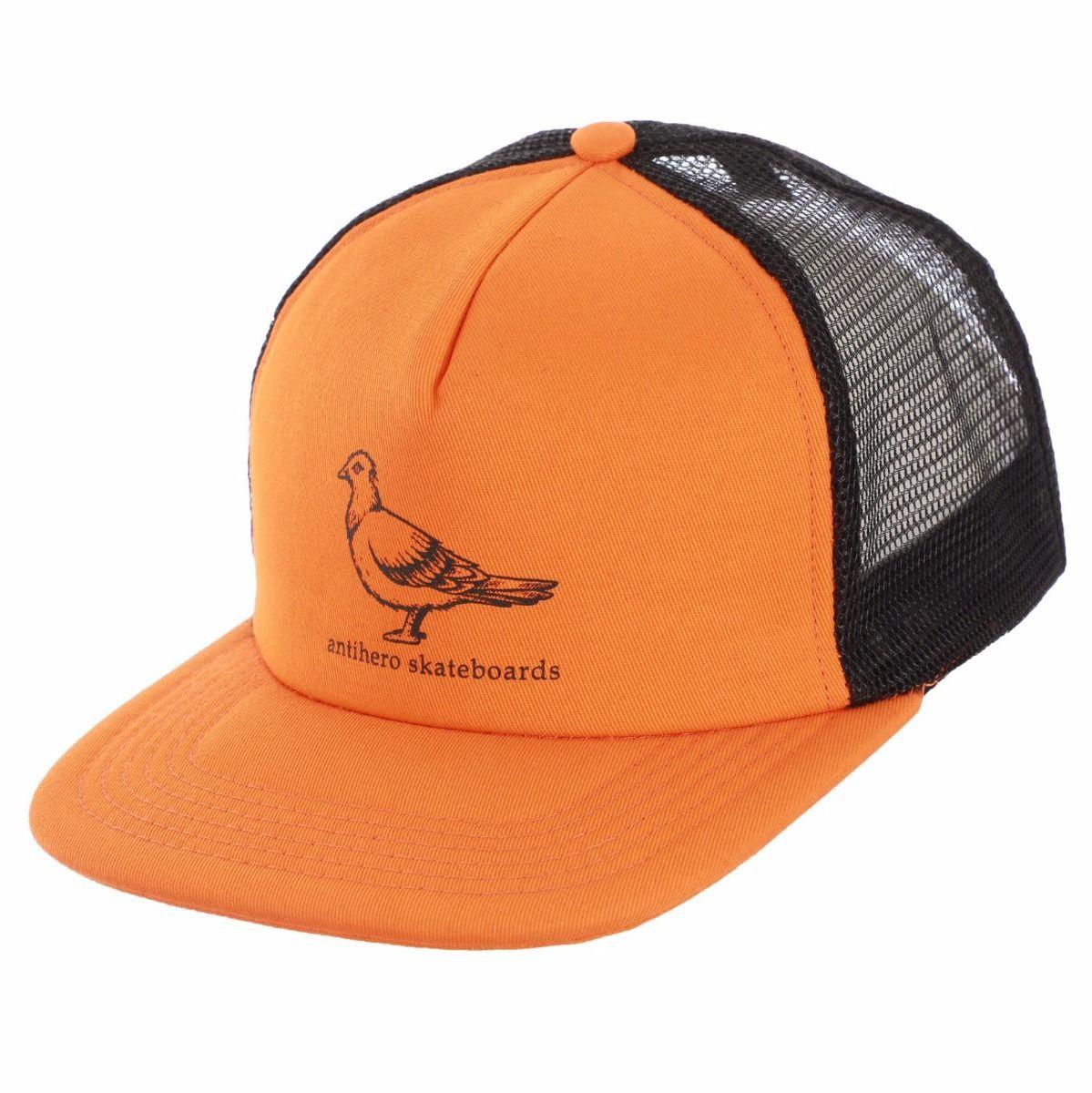 Casquette Anti Hero Pigeon Orange Black