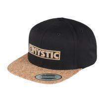 CASQUETTE MYSTIC CHRIS CAP CAVIAR  S19
