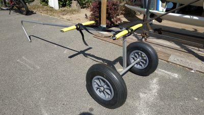 Chariot Avec Timon Pour Transport De Flotteurs