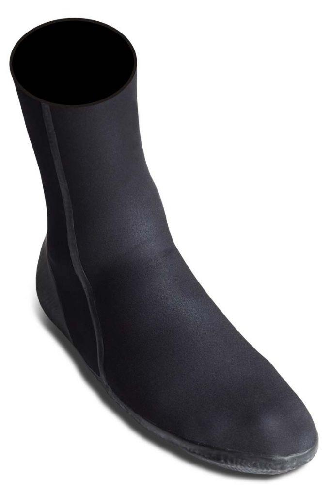 Chausson néoprène WETTY 5 mm Carbone black