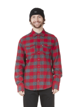 Chemise Flanelle Picture Hillsboro Red