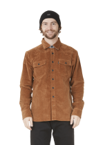 Chemise Velours Picture Graftons Brown