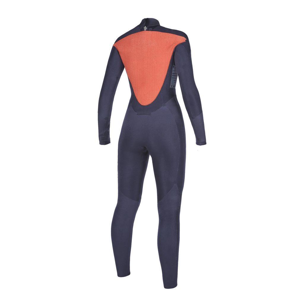 Combinaison Integrale Néoprène Mystic 2020 Star Women 5/3 mm Back-zip Menthol Blue