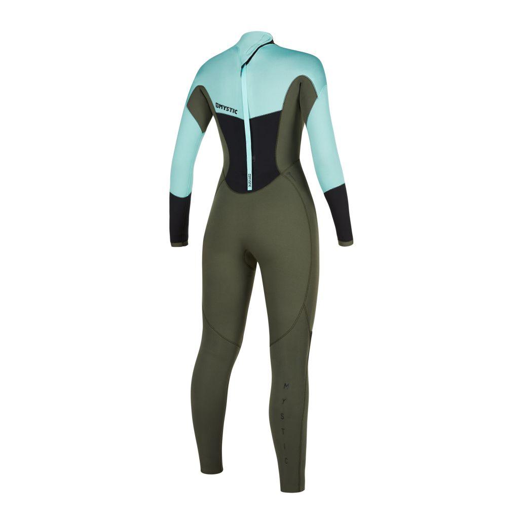 Combinaison Integrale Néoprène Mystic 2020 Star Women 5/3 mm Back-zip Mint Green