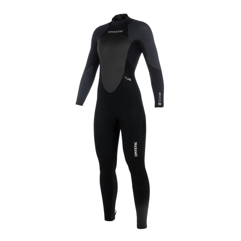 Combinaison Mystic Star Fullsuit women 3/2 mm back zip  S19