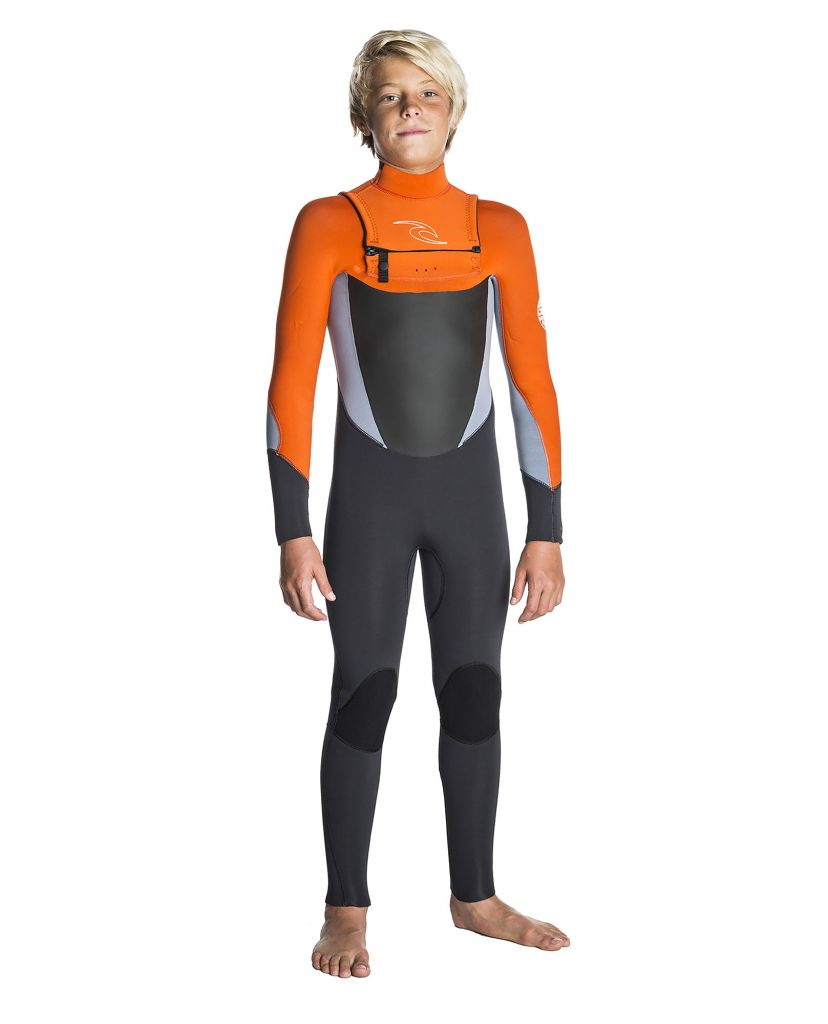 Combinaison néoprène Junior Rip Curl Dawn Patrol 43GB C/Z ST S18 Grey Orange