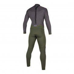 Combinaison Star Fullsuit 5/3mm Bzip - grey/green
