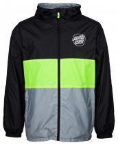Coupe Vent Santa Cruz Jacket Sky Light Jacket Black