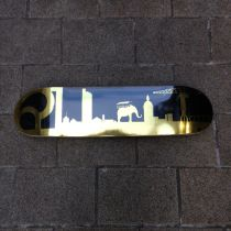 Deck de skate Ride All Serie limitée Gold