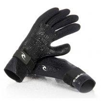 Gants néoprène Rip Curl E BOMB 2MM 5 FINGER GLOVE W18/19 Black