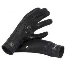 Gants néoprène Rip Curl FLASHBOMB 5/3 5 FINGER GL W18/19 Black