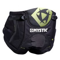 Harnais de windsurf Mystic Star Seat S18 Black/Yellow