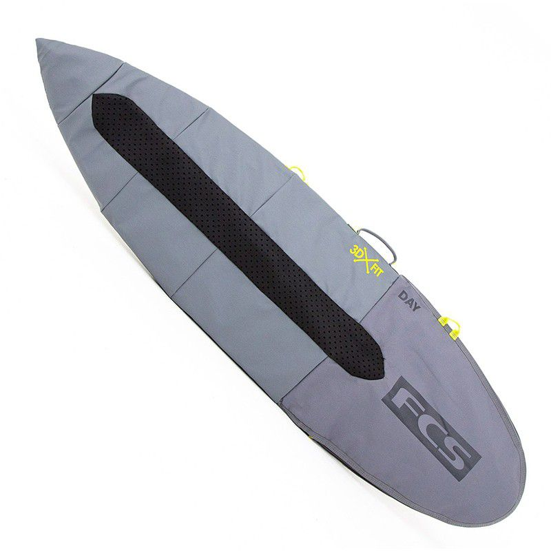 "HOUSSE FCS DE SURF DAY ALL PURPOSE  5\'9\""  STEEL BLUE"