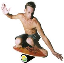 Indo Board original clear avec rouleau