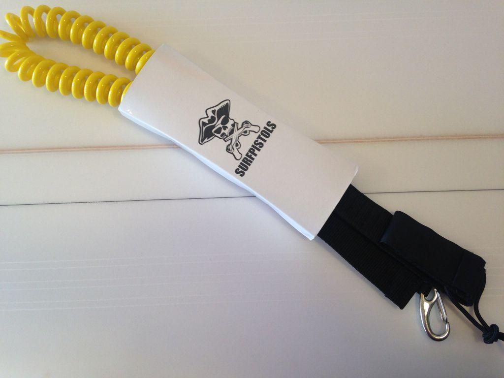 Leash de kite 10\' coiled Surfpistols