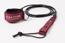 Leash de surf Koalition Dark Red
