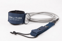 Leash de surf Koalition Navy Blue Silver