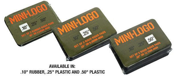 MINI LOGO PADS 0.25 (6.35MM) HARD