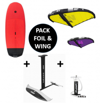 Pack TAKUMA ZK SUP/WING CARBON + WING VR V3 + FOIL LOL 1600 ACarbon 2020/2021