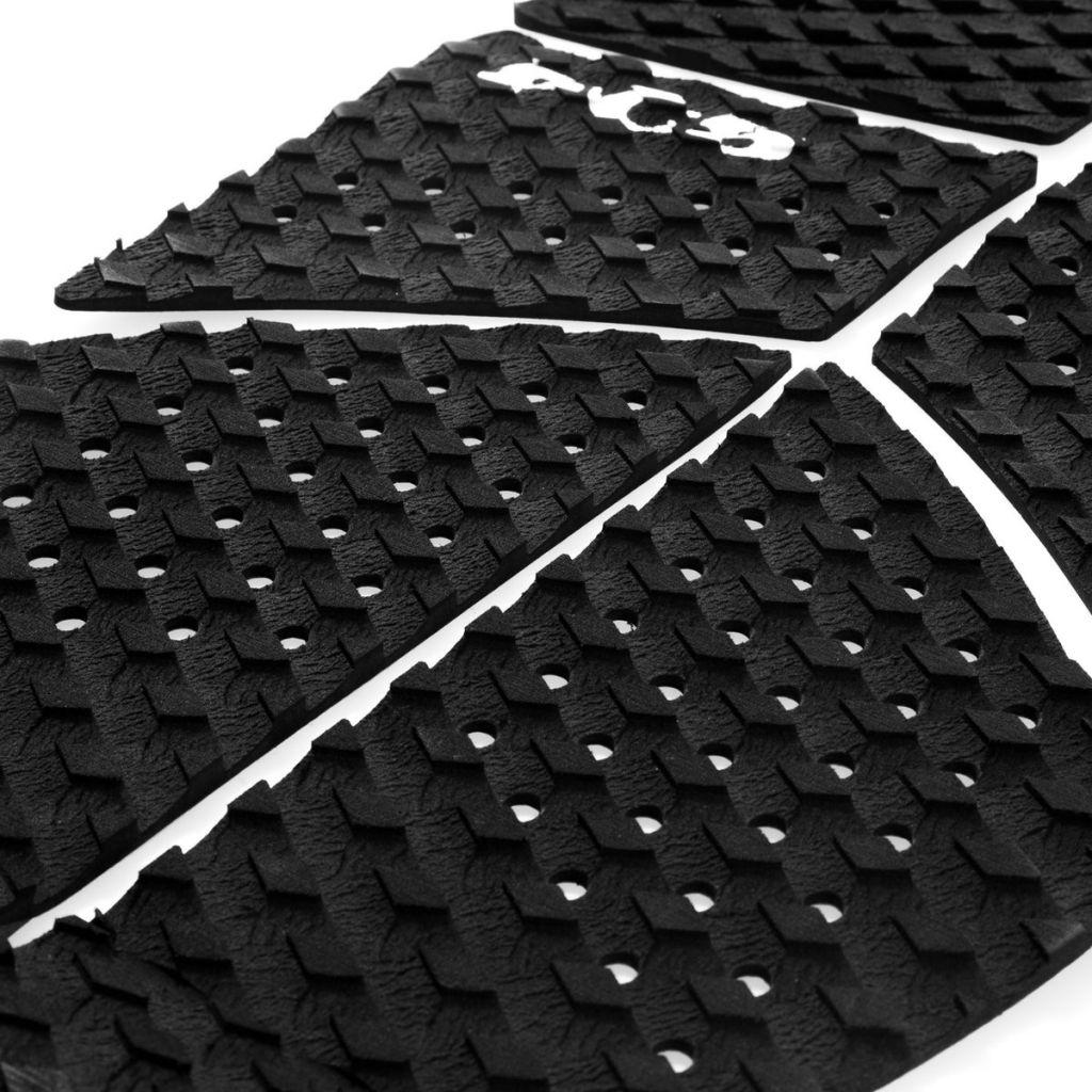 Pad de surf FCS LONGBOARDS LB-6 BLACK