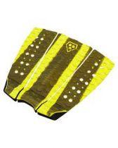 Pad de surf Phat Three Black and yellow