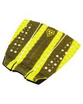 Pad de surf Phat Three Black and yellow
