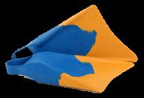 Palmes de bodyboard Makapuu Churchill Blue Yellow