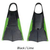 Palmes de bodyboard ORCA S18 Black Lime