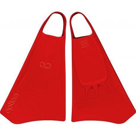 Palmes de bodyboard Swimfins Option Red