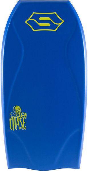 Planche de bodyboard Sniper Chase PE Action serie Blue Yellow