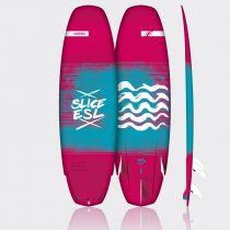 Planche de Kitesurf Surfboard F\'One Slice Essential 2018 strapless sans aileron
