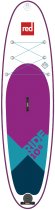 Planche de SUP gonflable Red Paddle Co Ride 10\'6 SE MSL Fusion 2018 LIMITED